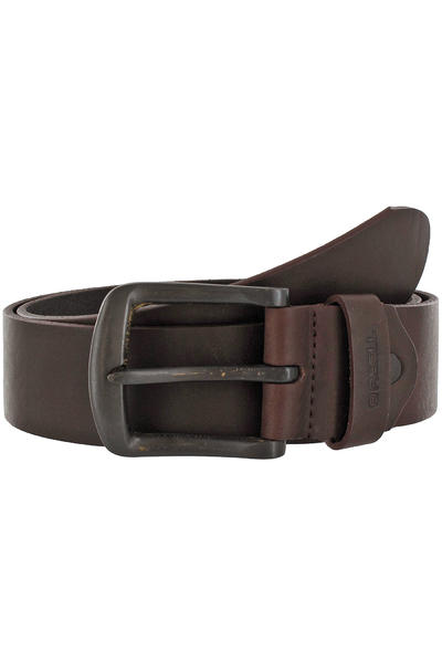 REELL All Black Buckle Belt (brown)