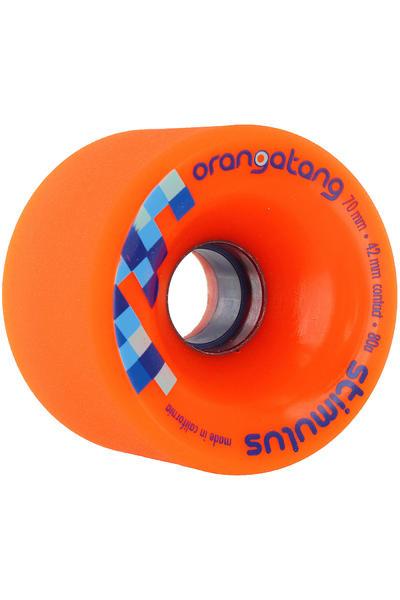 Orangatang Stimulus 70mm 80A Wheel (orange) 4 Pack
