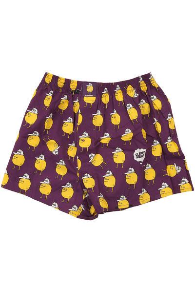 Lousy Livin Underwear Zitrone Boxershorts (purple)