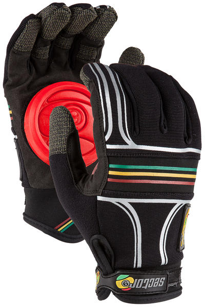 Sector 9 BHNC Slide Gloves (rasta)