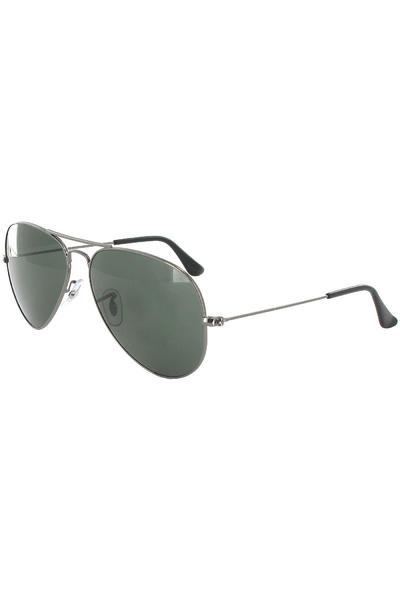 Ray-Ban Aviator Large Metal Sonnenbrille 58mm (gunmetal)