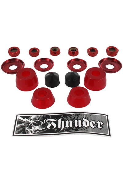 Thunder 90A Rebuilt Kit Lenkgummi (red) 2er Pack