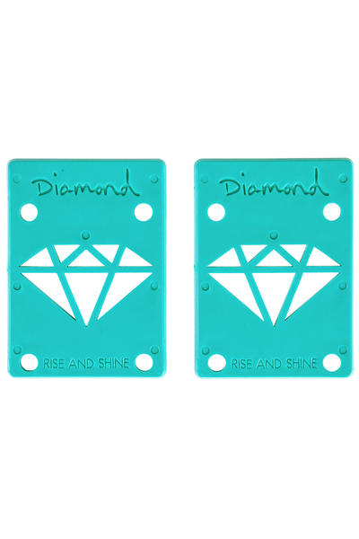 "Diamond 1/8"" Basic Riser Pad (diamond blue) 2 Pack"