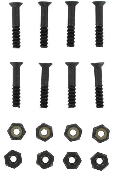 "Destructo 1"" Bolt Pack (black) Flathead (countersunk) cross slot"