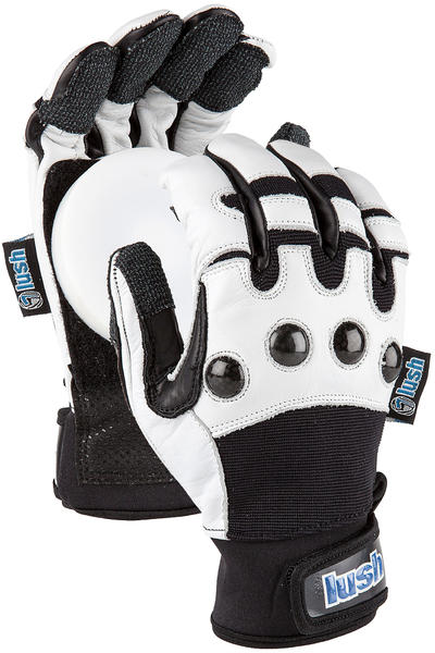 Lush Race Deluxe Slide Gloves (black white)