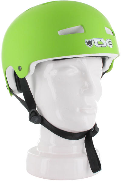 TSG Evolution-Solid-Colors Helmet (satin lime green)