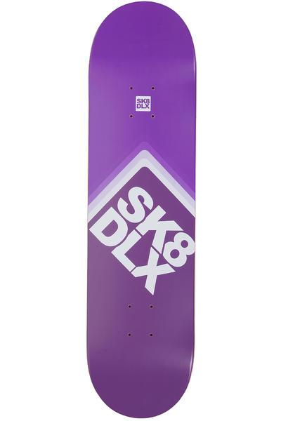 "SK8DLX Cube Logo 8.125"" Deck (purple)"