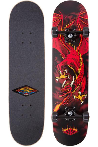 "Powell-Peralta Golden-Dragon Flying-Dragon 7.625"" Komplettboard (black red)"