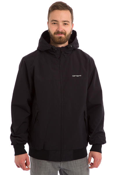 Carhartt WIP Hooded Sail Jacke (black broken white)
