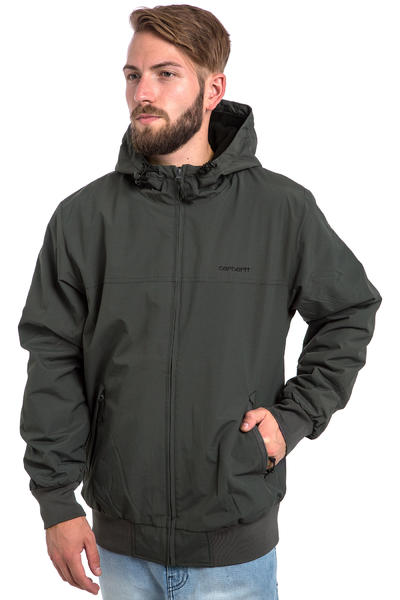 Carhartt WIP Hooded Sail FA15 Jacket (blacksmith black)