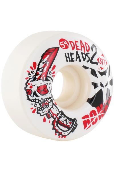 Bones STF Dead Heads II 54mm Rollen (white) 4er Pack