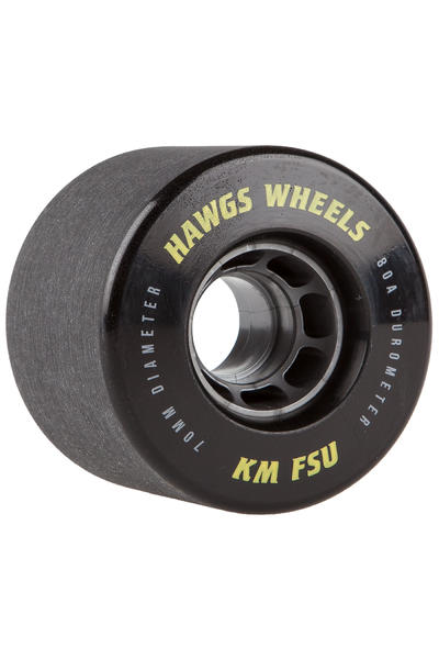 Hawgs KMFSU 70mm 80A Rollen (black) 4er Pack