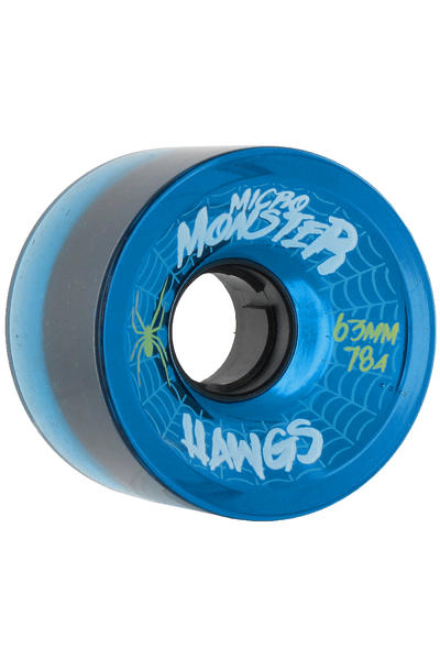 Hawgs Micro Monster 63mm 78A Roue (clear blue) 4 Pack