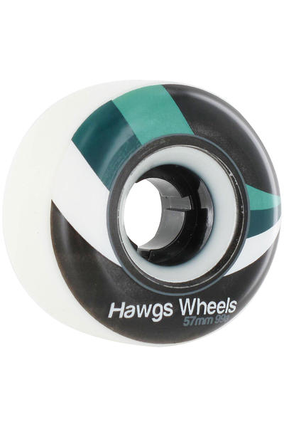 Hawgs Street 57mm 99A Rollen (white) 4er Pack