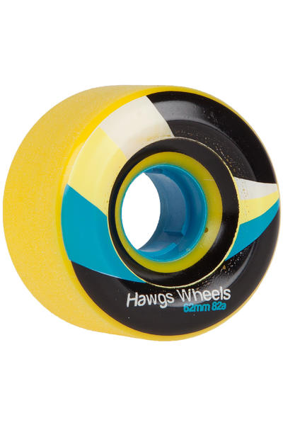 Hawgs Street 62mm 82A Rollen (yellow) 4er Pack