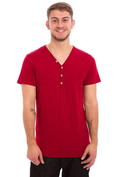 Iriedaily Clerk 2 T-Shirt (dark red)