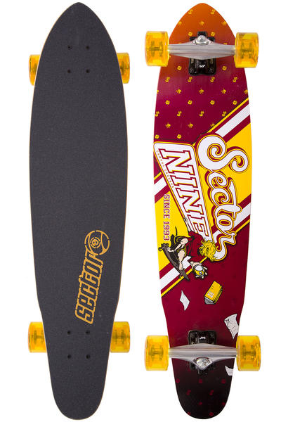 "Sector 9 Campus Crusher 36"" (91,5cm) Komplett-Longboard (red)"
