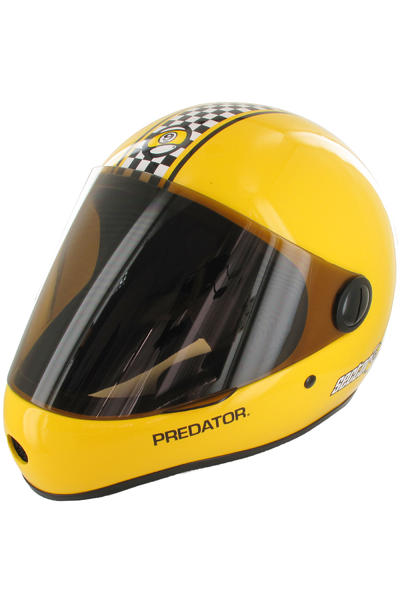 Sector 9 Predator Downhill Helm (yellow)