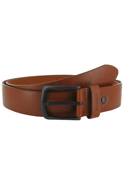 REELL All Black Buckle Belt (hazel)