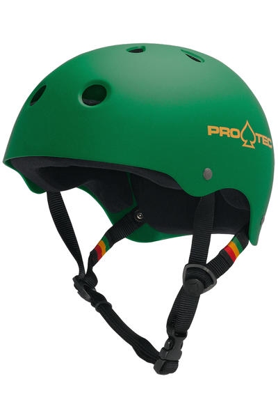 PRO-TEC The Classic Casco (matte rasta green)