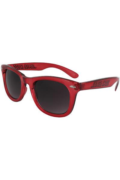 Santa Cruz Iceman Sunglasses (smoked red)