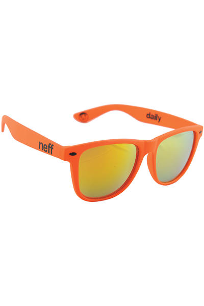 Neff Daily Sunglasses (orange soft touch)