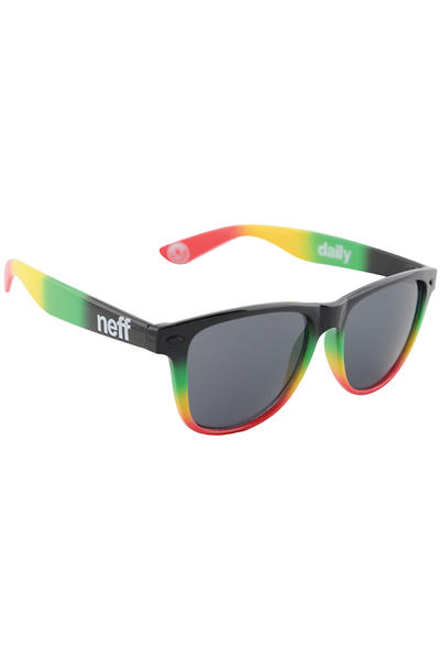 Neff Daily Sunglasses (rasta spray)