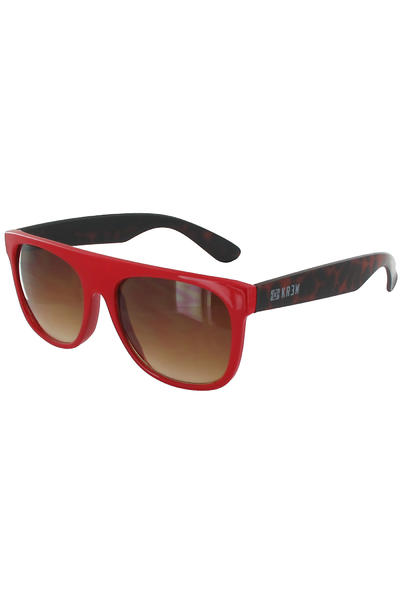 KR3W Straight Sunglasses (red)