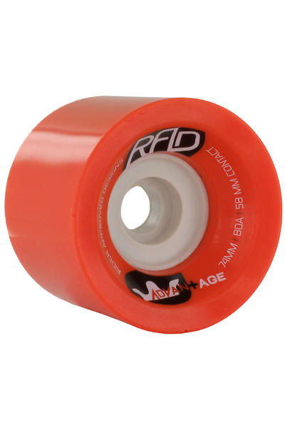 R.A.D. Advantage 74mm 80A Wheel (red) 4 Pack