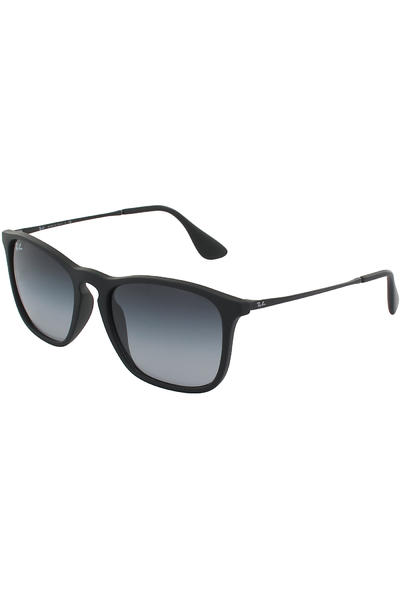 Ray-Ban Chris Sonnenbrille 54mm (rubber black grey)