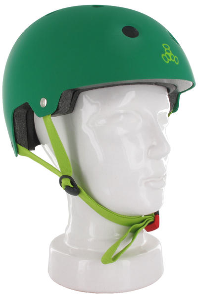 Triple Eight Brainsaver Casco (green rubber)