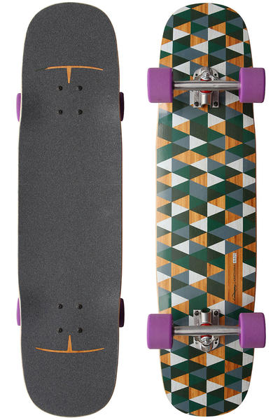 "Loaded Kanthaka 8.625"" x 36"" (91cm) Komplett-Longboard Paris-Setup"