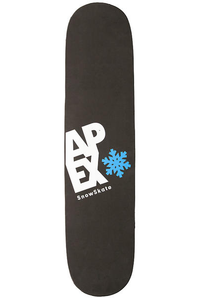 Apex Longboards Wood Snowskate (black blue)
