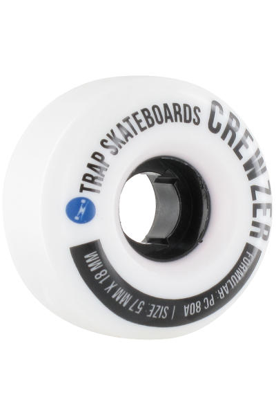Trap Skateboards Crewzer 57mm Rollen 4er Pack