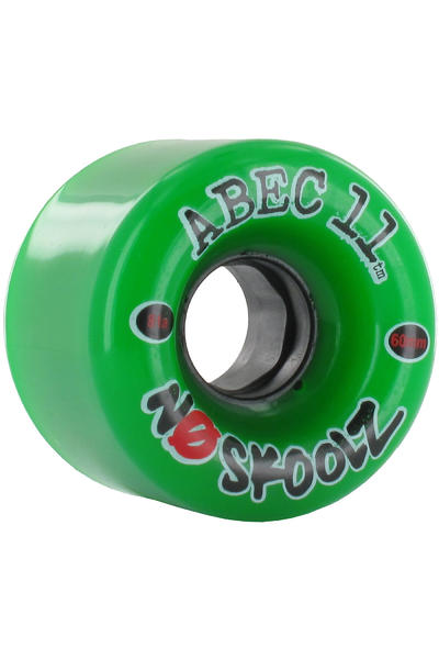 ABEC 11 No Skoolz 60mm 81A Rollen (green) 4er Pack