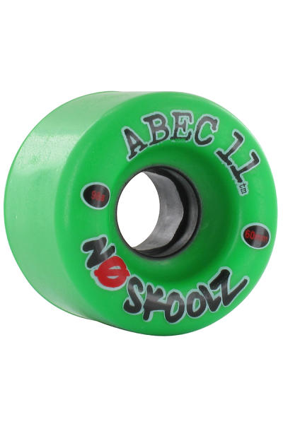 ABEC 11 No Skoolz 60mm 98A Rollen (green) 4er Pack