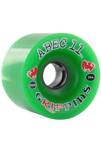 ABEC 11 Grippins 70mm 84A Rollen (green) 4er Pack