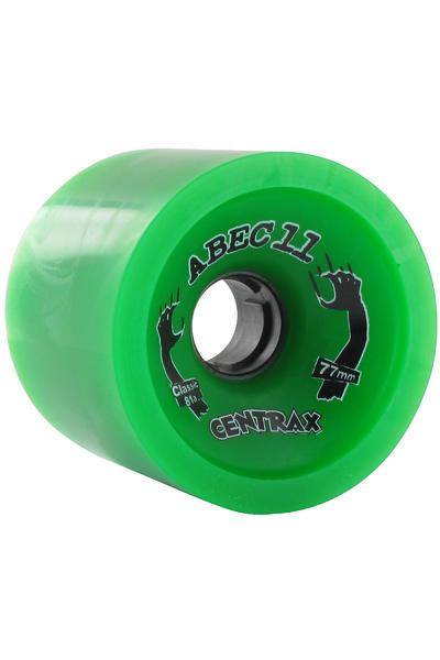 ABEC 11 Classic Centrax 77mm 81A Rollen (green) 4er Pack