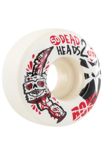 Bones STF Dead Heads II 50mm Wheel (white) 4 Pack