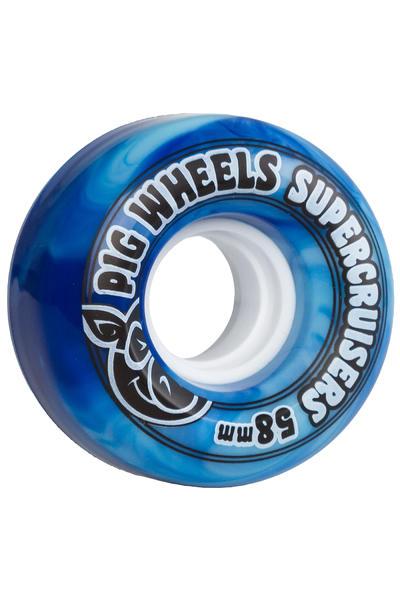 Pig Supercruiser II 58mm 85A Wheel (blue) 4 Pack