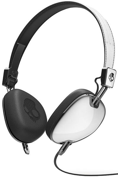 Skullcandy Navigator Headphones mit Mikro  (white black)