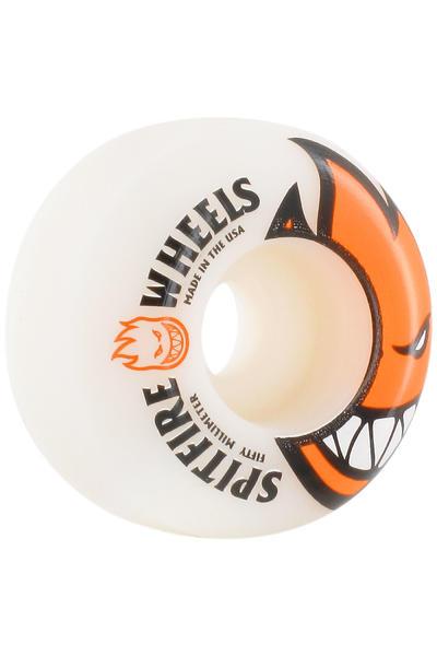 Spitfire Bighead 50mm Rollen (orange white) 4er Pack