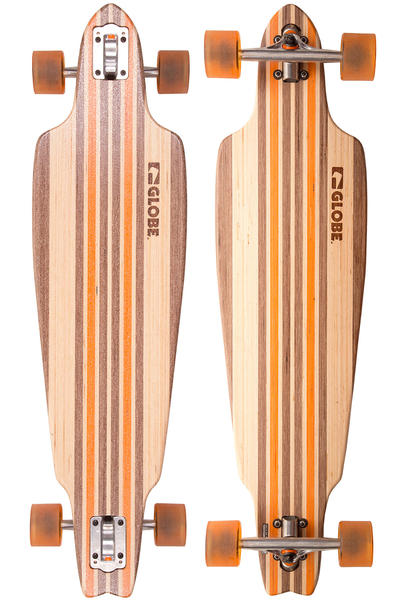 "Globe Prowler V-Ply 38.5"" (97,8cm) Komplett-Longboard (natural orange)"