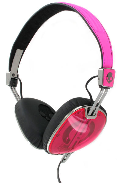 Skullcandy Navigator Headphones mit Mikro  (hot pink black black)