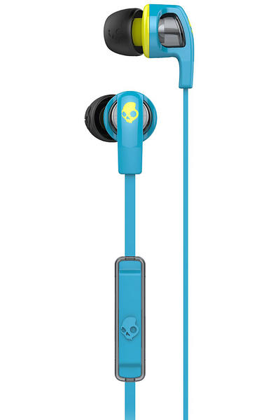 Skullcandy Smokin Buds 2 Headphones mit Mikro (hot blue hot lime)