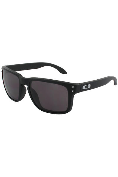 Oakley Holbrook Sunglasses (matte black warm grey)