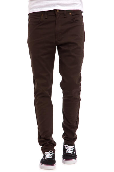 Dickies Slim Skinny Pants (dark brown)