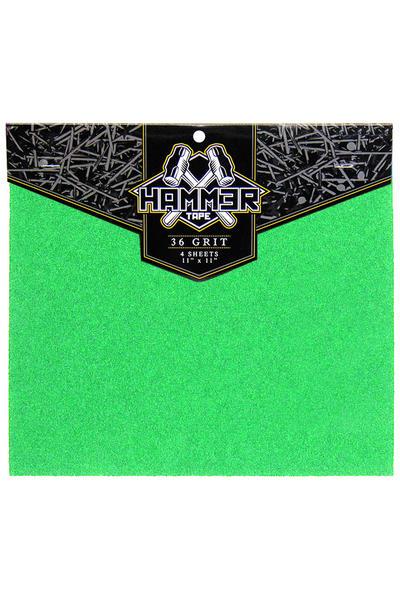 """Landyachtz Hammer 11"""" x 11"""" Griptape (green) 4er Pack"""