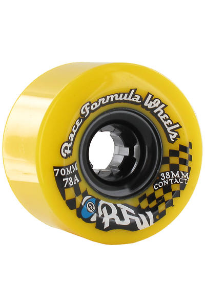 Sector 9 Race 70mm 78A CS Rollen (yellow) 4er Pack