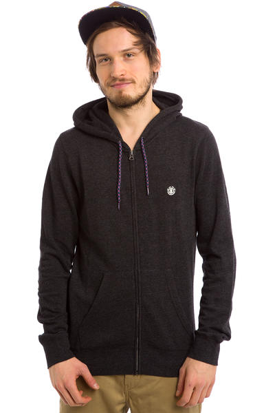 Element Cornell SP15 Zip-Hoodie (charcoal heather)